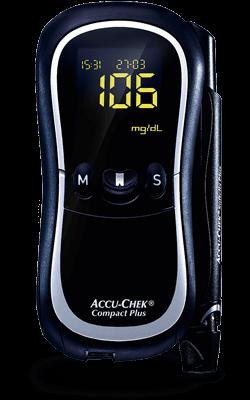 Free Blood Glucose Meter >> Accu Chek Compact Plus Blood Glucose Monitoring System