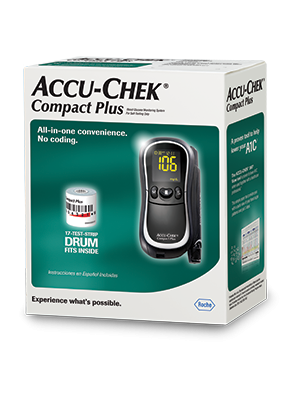 Accu Chek Compact Plus Blood Glucose Monitoring System