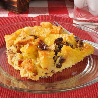Baked holiday dessert casserole